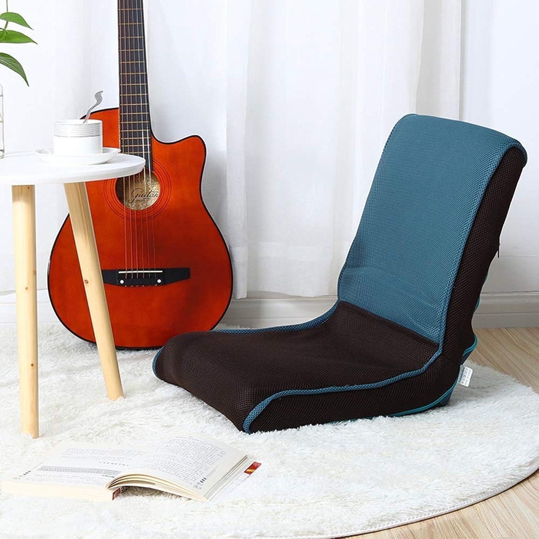 XQY Schlafsaal-Bett-Stuhl, Student-fauler Stuhl, College-Schlafsaal-Artifakt-Schlafzimmer-Freizeit Faltbarer fauler Sofa-Fuboden-Stuhl-Balkon-Lehnsessel-Spiel-Stuhl