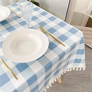 LMWB Bordsskydd, bordsduk, enkel bomull och linne vattentät och oljesäker bordsduk soffbord bordsduk skrivbordsskydd duk b...