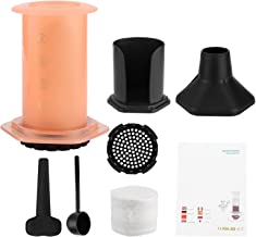 med 400st Filterpapper Kaffepresspress Kaffebryggare Kaffepanna Kruka matkvalitet plast Lätt verktyg för kaffebryggning(Or...