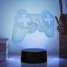 3D nachtlampje, kinderkamer decoratielicht met 16 kleuren touch en afstandsbediening, geschikt voor kinderverjaardagsfeest...
