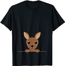 Kangaroo T-Shirt Cute Joey In A Pouch Baby Marsupial Tee