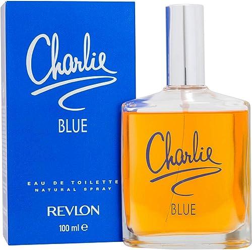 Revlon Charlie Eau de Toilette Spray, Blue, 100ml (122374)