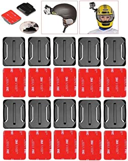 Tripods - 10 pcs Curved Adhesive Sticker Mount Kit for Hero 6 5 4 3+ 3 2 1 Go Pro Session SJ4000 for Yi Camera accessories