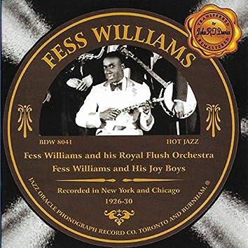 Fess Williams 1926-1930
