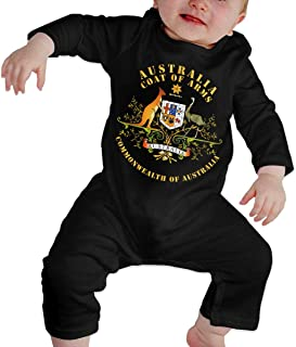 HOUFOUCC COA - Australia - Commonwealth of Australia Baby Onesie Organic Long-Sleeve Bodysuit