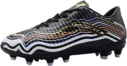 Response Football Shoes for Boys (36 EU, Black White)