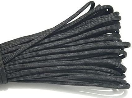 100 Ft environ 30.48 m Paracord 550 Type 3-7 Strand Parachute Cord-OD FISH N Fire