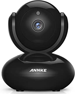 IP Camera, ANNKE 1080P Full HD Indoor Pan/Tilt WiFi IP Camera for Home/Baby/Pet, Two Way Audio, Smart Motion-Triggered Alarm