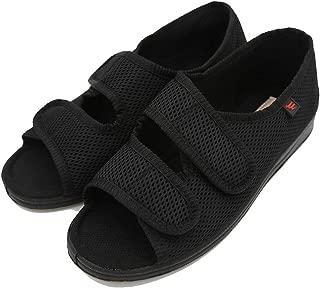 Women Diabetic Shoes Arthritis Edema Memory Foam with Adjustable Extra Wide Orthopedic Slippers