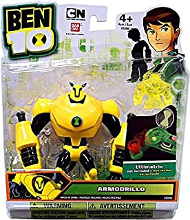 Ben 10 Alien 4 Inch Action Figure Armodrillo Includes Minifigure For Revolution Ultimatrix