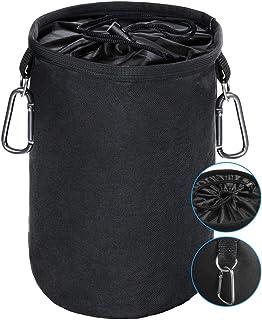 XCOZU Wäscheklammer Beutel zum Aufhängen, Klammerbeutel Wasserdicht mit 2 Kleiderbügel..