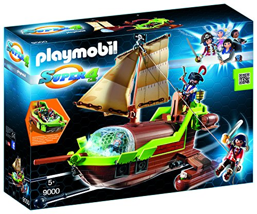 PLAYMOBIL Pirata Camaleón con Rub