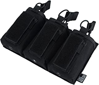 OneTigris Elastic Kangaroo Rifle and Pistol Mag Pouch for AR AK G36 9mm .40 S&W .45 ACP Magazines