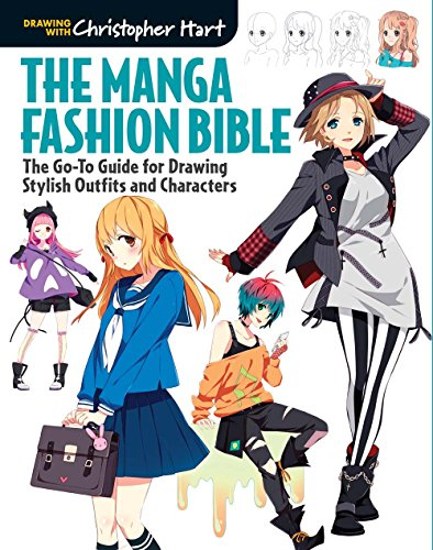 The Manga Fashion Bible: The Go-To Guide for Drawing Stylish...