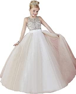Little Girls Sparkle Tulle Glitz Princess Pageant Dresses