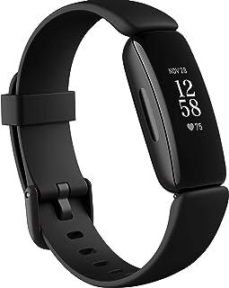 Fitbit Inspire 2 - tracker zdrowia i aktywności fizycznej z bezpłatnym rocznym dostępem do usługi Fitbit Premium, śledzeni...