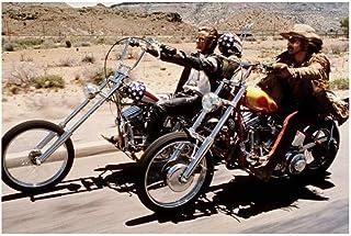 MKAN ピーターフォンダの象徴的なシーン、デニス、ホッパーライディングバイクイージーライダーポスター装飾用壁ペイントプリントキャンバス-60X80Cmフレームなし