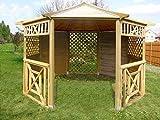 Checo Home & Garden 3.5m Wooden Gazebo