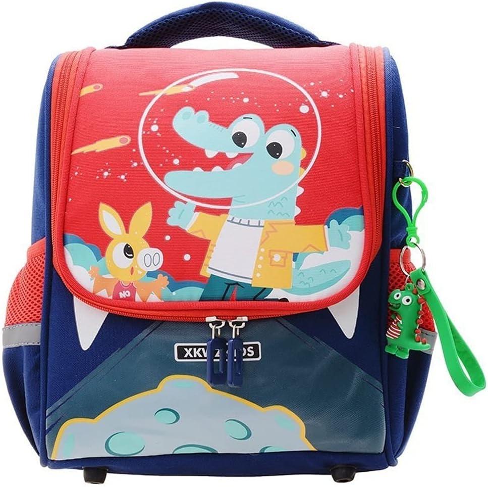 BUKQP National products Boys and Girls Kindergarten Cartoon Baby Super sale Cute 3-7 Backpack