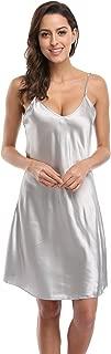 CostumeDeals KimonoDeals Women's dept Satin Nightshirts Camisole Nightgown Chemises Slip Sleepwear