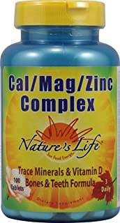 Nature's Life Cal Mag Zinc Complex | 100 ct