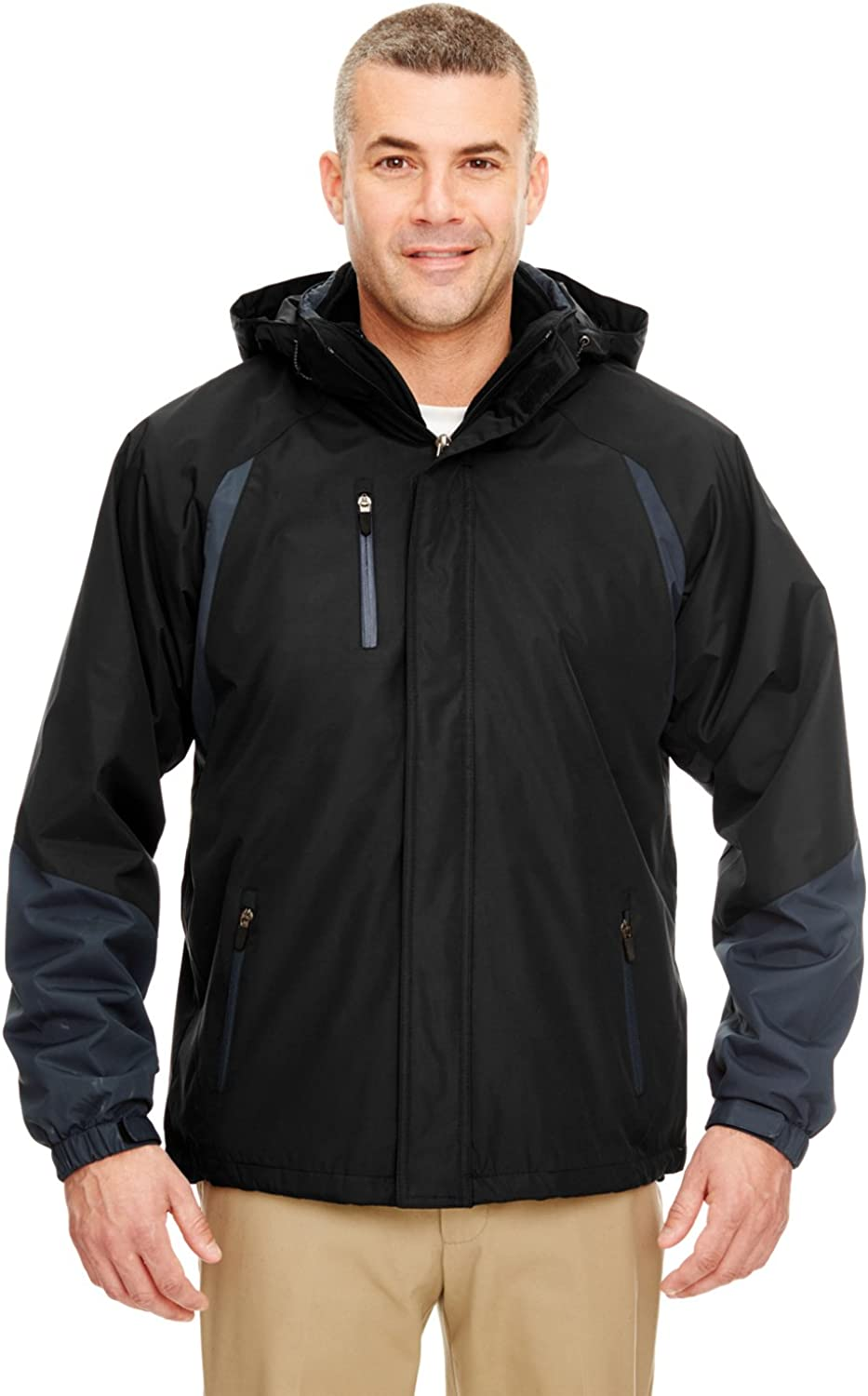 Mens Three-in-One color Block Systems Jacket (8939)