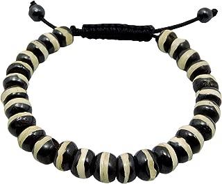 Tibetan Yak Bone Wrist mala Bracelet Yoga Healing Beads for Meditation