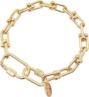 أساور ربط ذهبية من إمبتر، سوار ساحر مطلي بالذهب عيار 18 قيراط للنساء أساور يدوية أنيقة للنساء