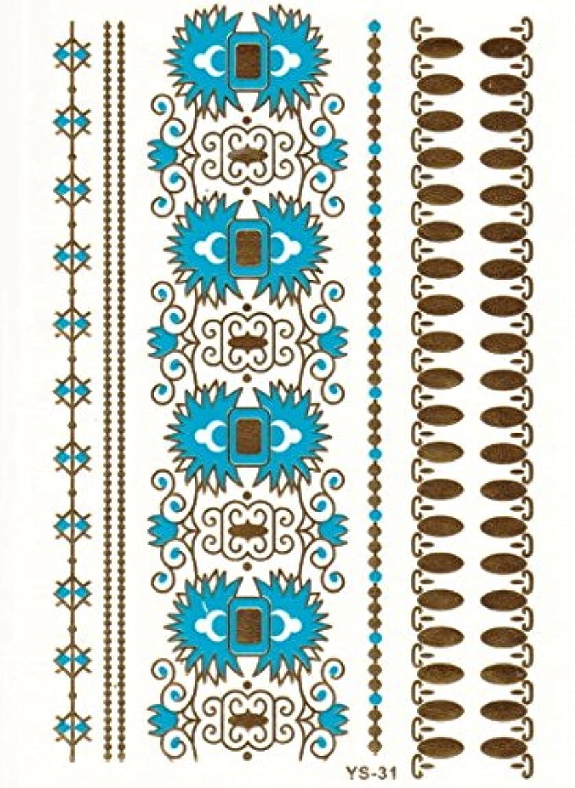 全く発表バリアメタリックタトゥー FLASH TATTOOS タトゥーシール 16