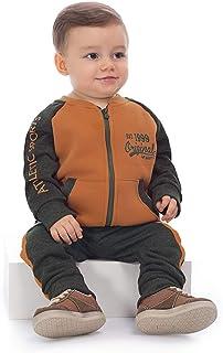 Conjunto Jaqueta E Calça Moletom Bebê Up Baby