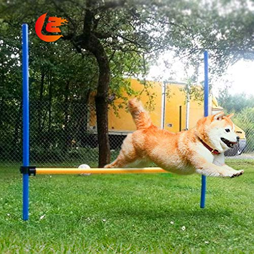 Namsan Outdoor Dog Agility Training Equipment, Agility Training Set for Dogs, Pet Jump Hurdle bar