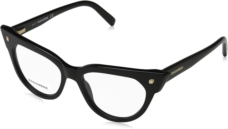Dsquared2 DQ 5235 SHINY BLACK women Eyewear Frames