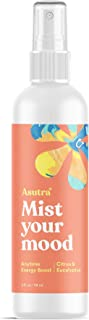 ASUTRA Citrus & Eucalyptus Organic Essential Oil Blend, Aromatherapy Mist, 4 fl oz | for Face, Body, Rooms, Linens | Energy Boost That Awaken Your Senses & Lifts Your Mood
