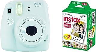 Fujifilm Instax Mini 9 - Cámara instantánea Cámara con 2x10 películas Blanco