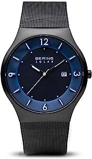 Bering 丹麦品牌 太阳能系列 光动能男士手表 不锈钢4440-227
