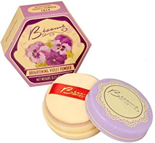 Besame Cosmetics Brightening Powder, Violet, 0.21 Ounce