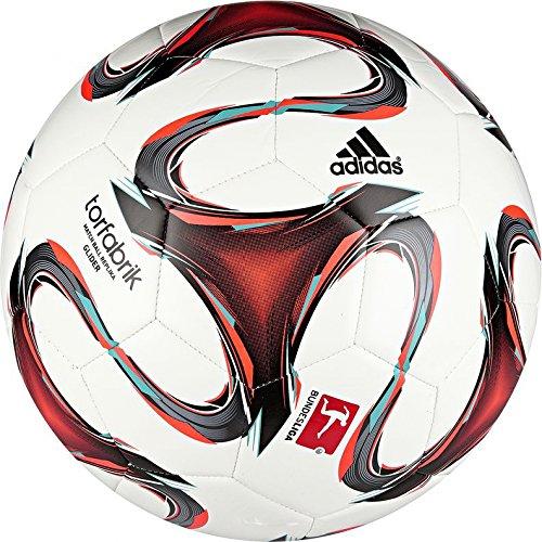 adidas Fußball Torfabrik 2014 Glider, Wht/Infred/Vivmin, 5, F93533