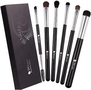 Eyeshadow Brushes Eye Brush Set - 6Pcs Makeup Brushes for Eyeshadow Eyebrow Eyeliner Blending Cosmetics Tools Beauty Brushes Kit