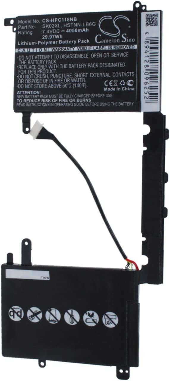 Replacement Battery for HP Split 13-R010dx 13.3 TPN-C118 x2 TP Denver Classic Mall