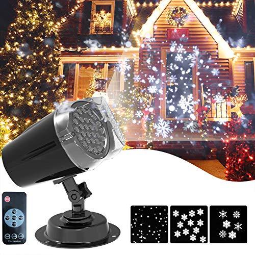 luz navidad nieve fabricante Amouhom