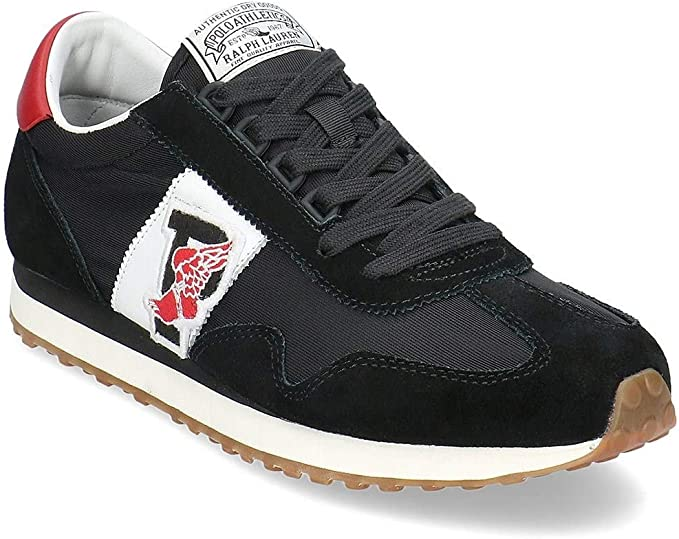 Zapatillas Polo Ralph Lauren Train 90 P - Color - Negro ...