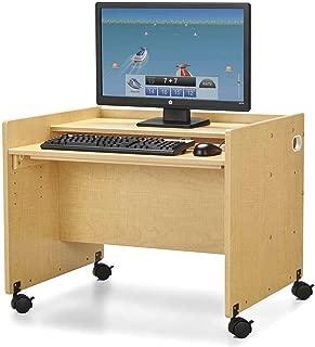 Jonti-Craft 29.5 in. Enterprise Single Computer Desk