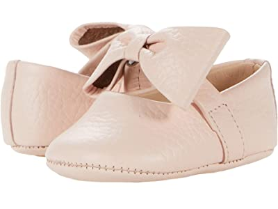 Elephantito Baby Ballerina w/ Bow (Infant/Toddler) (Pink) Girls Shoes