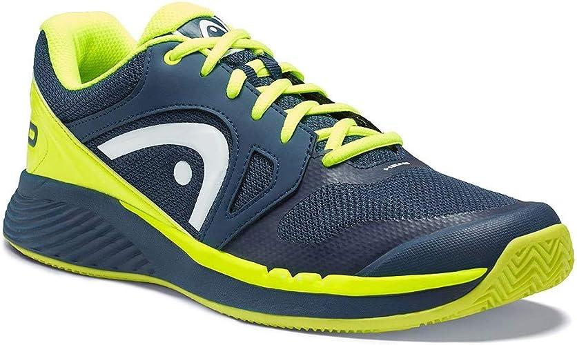 HEAD - Sprint Evo Clay Chaussures de Tennis pour Hommes (Bleu)