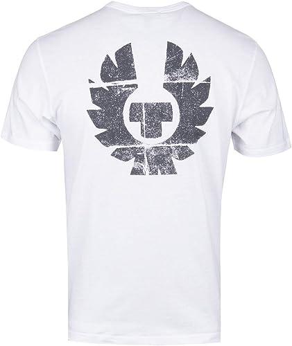 BELSTAFF - T-Shirt - Homme Blanc Blanc