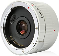 VILTROX C-AF 2X II TELEPLUS Auto Focus 2.0X Telephoto Extender Teleconverter Lens Converter for Canon EF Mount Super Telep...