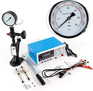BSTOOL Common Rail Injector Tester,CR-C Multifunction Diesel Nozzle Tester + S60H Fuel Injector Nozzle Tester (US Stock)