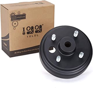 10L0L 19186G1P Brake Drum/Hub Assembly (Electric) for EZGO Golf Cart PDS&TXT