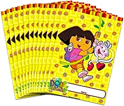 Dora The Explorer and Boots Party Gift Bag Loot ( 2 Sets of 8 ) 16 Treat Bags Nick Jr Nickelodeon Birthday
