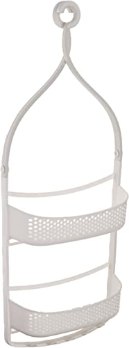 AmazonBasics Shower Caddy with Adjustable Arms - White product image